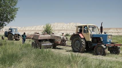 Heuernte mit alten Traktoren