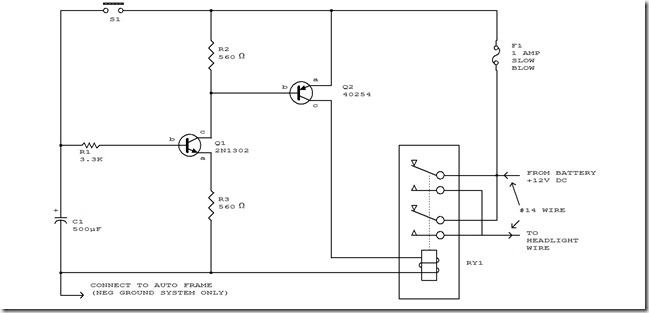 Circuit diagram automatic headlight schematic board simple circuit diagram automatic headlight schematic board swarovskicordoba Choice Image