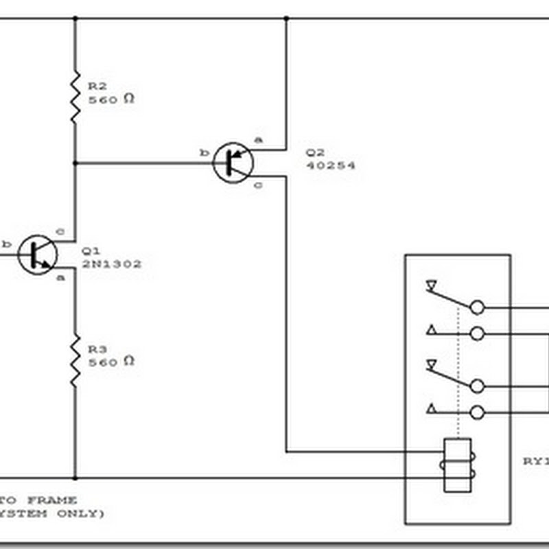 circuit diagram automatic headlight schematic board simple schematic collection