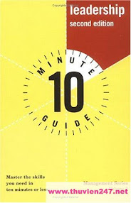 Cover of Elizabeth Leary's Book 10 Min Guide To Leadership