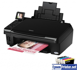 How to reset Epson SX415 printer