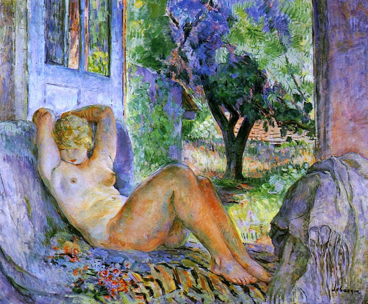 Henri Lebasque - Large Nude-1920
