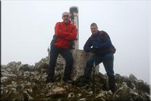 Muela mendiaren gailurra 1.055 m. -- 2016ko martxoaren 19an