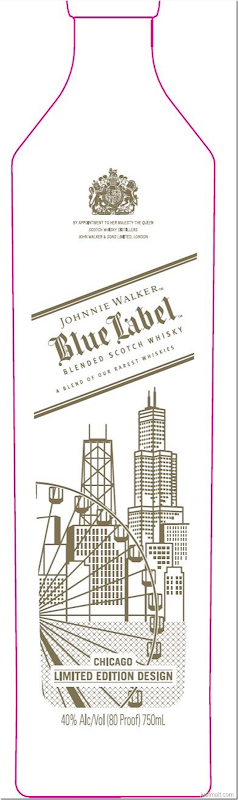 Johnnie Walker Blue Label Chicago Edition