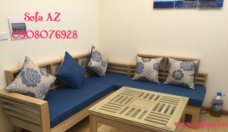 May nệm ghế sofa gỗ bằng da bò, nệm salon simili cao cấp Phú Nhuận