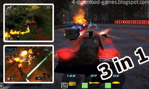 تنزيل العاب سيارات Battle Cars Games Pack