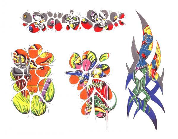 Design Of Magical Tattoo 3, Fantasy Tattoo Designs