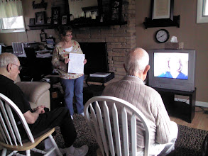 Photo: Online Exercise with VA physical therapist