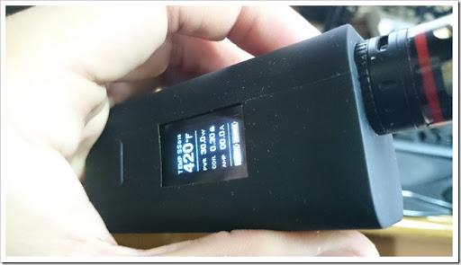 DSC 1147 thumb%25255B3%25255D - 【MOD】手ごろサイズな細身2本バッテリーTC機、「Joyetech Cuboid 150WテクニカルMOD」レビュー!ファームウェアアップデートで200Wにも