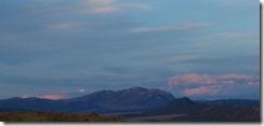Sunset, Lucerne Valley, Flaming Gorge