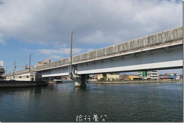 四國德島 葫蘆島周遊船 新町川水際公園 (24)