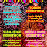 Diwali Card Exhibition 2010