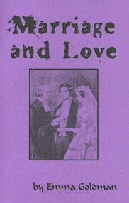 Cover of Emma Goldman's Book Marriage And Love