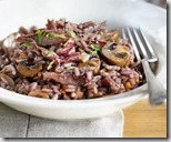 red wine duck risotto