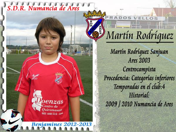 A.D.R. Numancia de Ares. Martín.