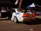 Nissan Skyline Rear view at night