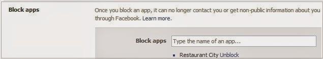 chặn ứng dụng làm phiền trên facebook