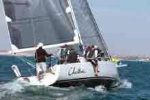 J/111 sailing off Lima, Peru