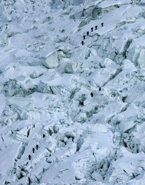 Nepal Everest Icefall