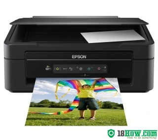 How to Reset Epson XP-205 inkjet printer – Reset flashing lights problem