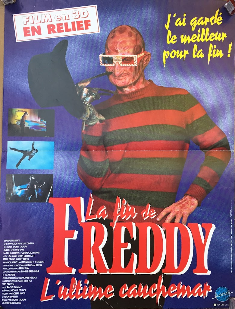 Nightmare 6: Freddy's Dead French 16 x 20 #1