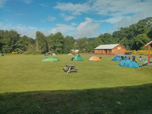 Cumberlands campsite loch ness at Cumberlands campsite loch ness