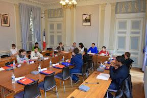 Mairie de Sèvres - 1ère séance plénière CCJ (GA)