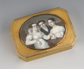 Gold box, St. Petersburg, P.F. Theremen, c. 1800.