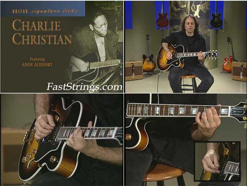 Charlie Christian - Guitar Signature Licks