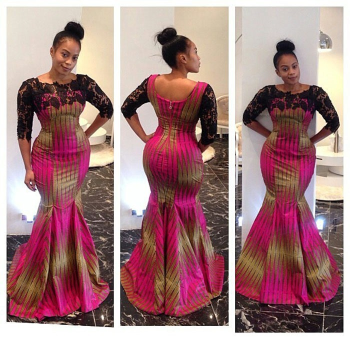 Latest Long ankara Dress Styles 2017 (2)