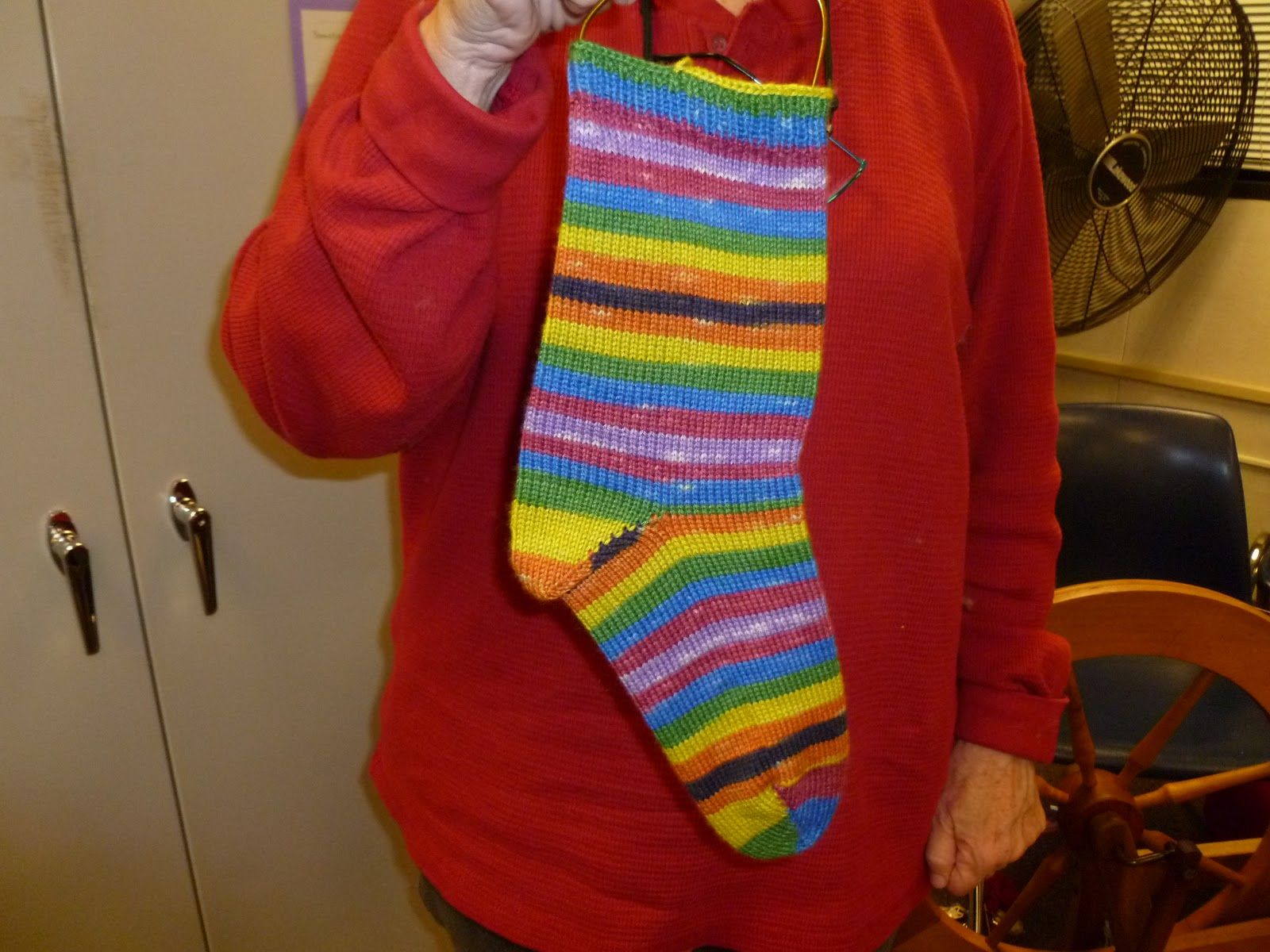 Sdmags Self Striping Socks