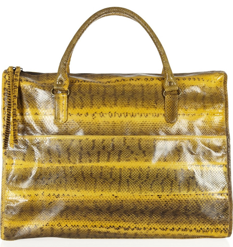 Tasseled Watersnake Weekend Bag by Beirn