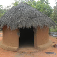 Traditional Botswana house, 500 yrs ago