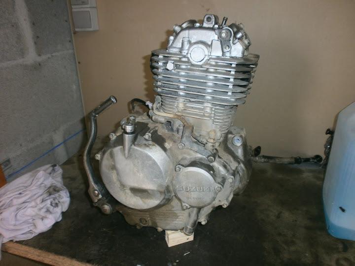 Les moteurs de DR350. P9100009