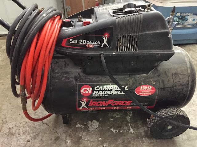 campbell hausfeld 20 gallon air compressor. campbell hausfeld, 5hp, 20 gallon hausfeld air compressor p