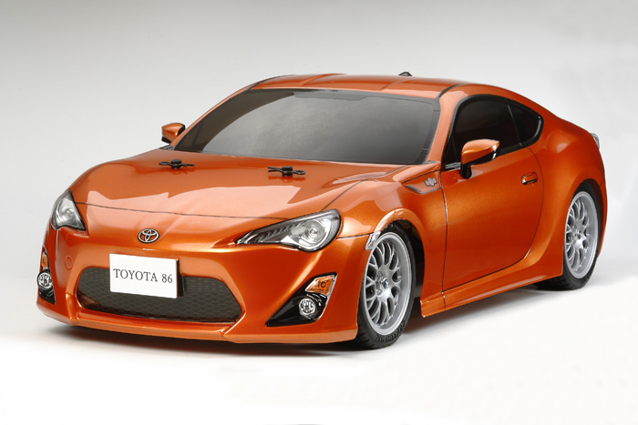 Tamiya 1:10 Toyota 86 FR-S Body Parts Set #51494