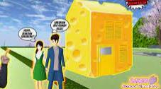ID Rumah Keju di Sakura School Simulator Cek Disini