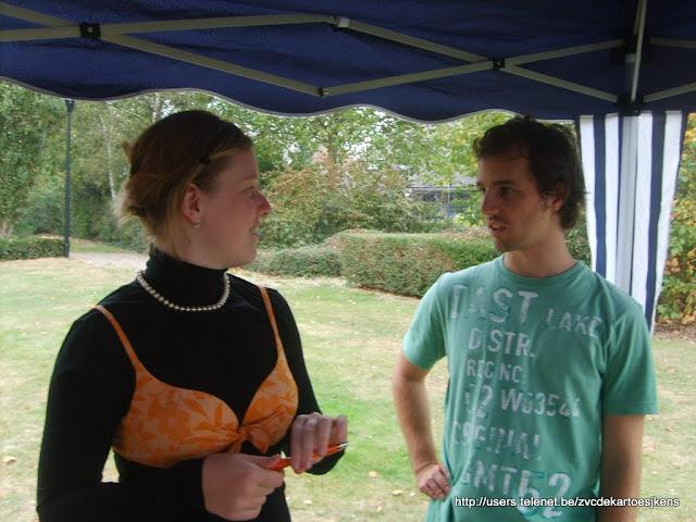 De Kertoesjkens op de Wandelzoektocht van Machelen (meer info op http://users.telenet.be/zvcdekartoesjkens)