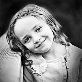 All Eyes by Mike Ritchie - Babies & Children Child Portraits ( white, children, smile, black, portrait, eyes )