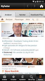 Swedbank spara och placera - náhled