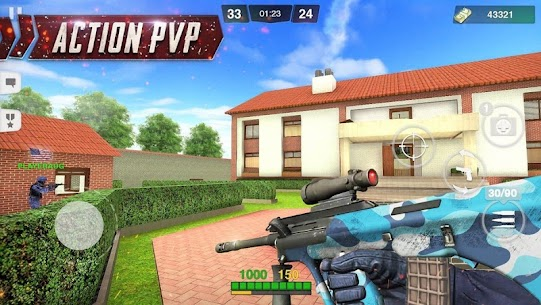 Special Ops: FPS PvP War-Online gun shooting games 1.96 APK Mod for Android 2