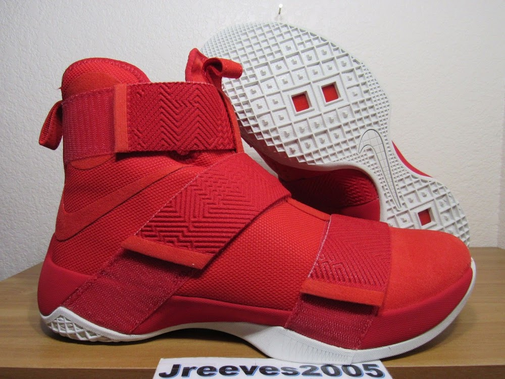 3832ef4bf955 ... This Red Nike LeBron Soldier 10 SFG Lux Was Phantom Released ...