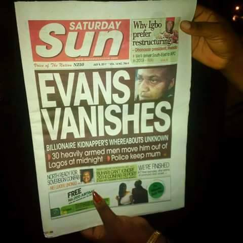 BREAKING NEWS! Billionaire Kidnapper Evans Vanishes