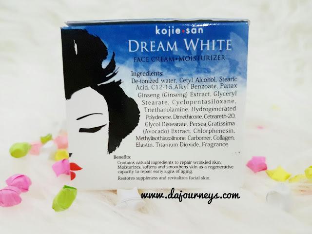 [Review] Kojie San Dream White Cream Moisturizer
