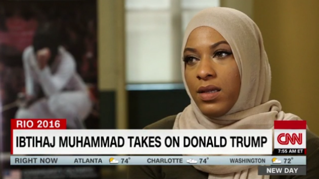 Muslim at Olympic Games: 'I don't feel safe in America'