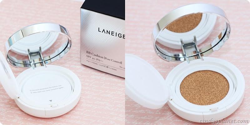 laniege BB Pore cushion review 2