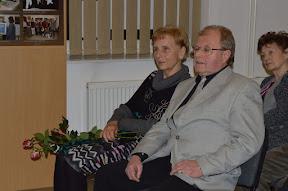 Vernisáž výstavy 22.1.2015 malíř Karel Kuška s manželkou