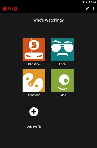 Screenshot 12 for Netflix's Android app'