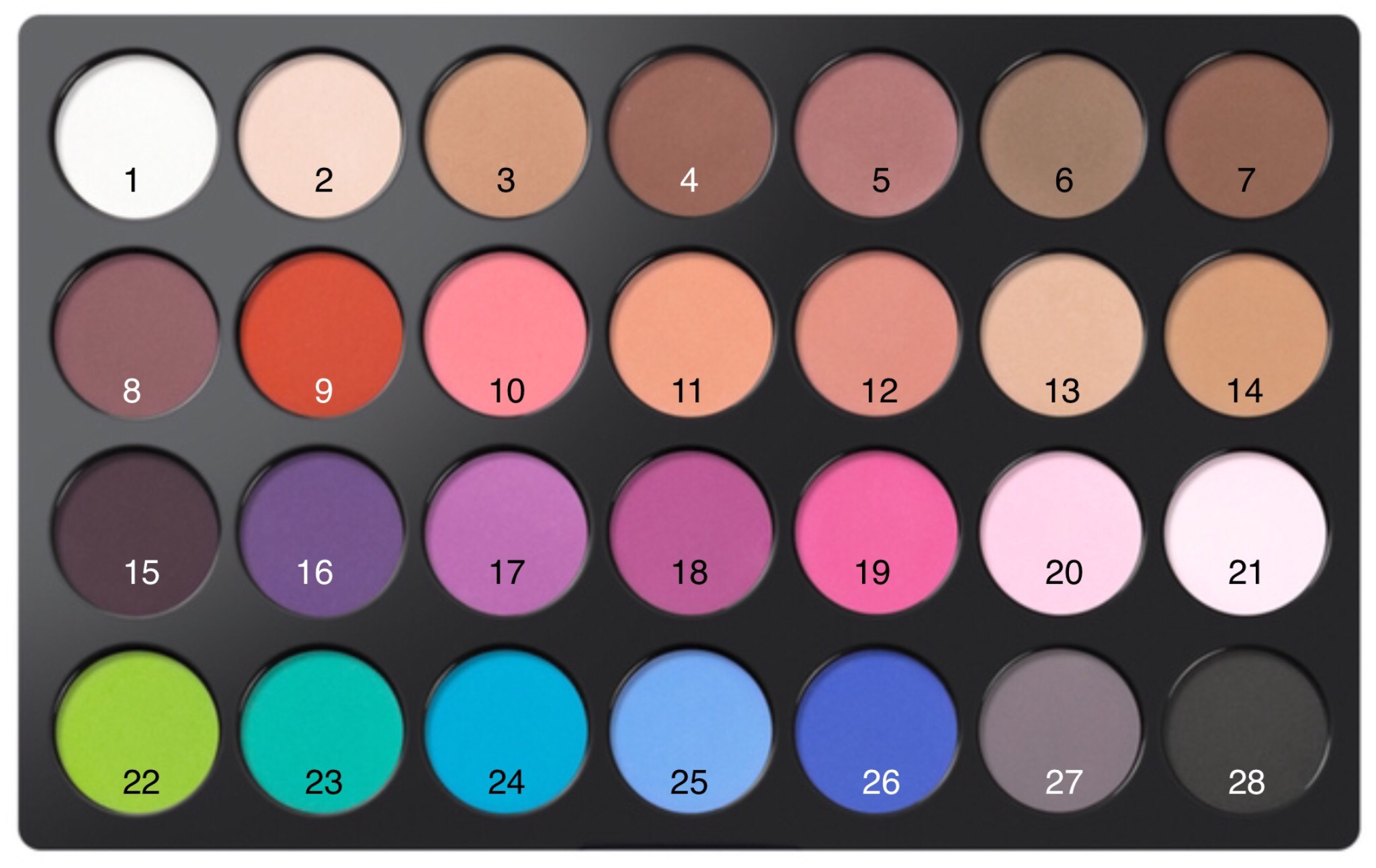 Supernova 18-Color Baked Eyeshadow Palette by BH Cosmetics #19