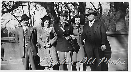 Group and a soldier Pequot Lakes Number 2762